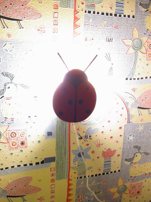 Светильник - букашка