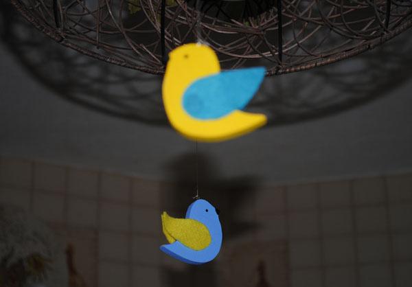 птички из фанеры